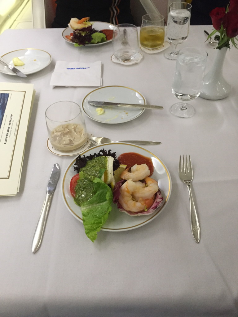 Pan Am Shrimp Appetizer