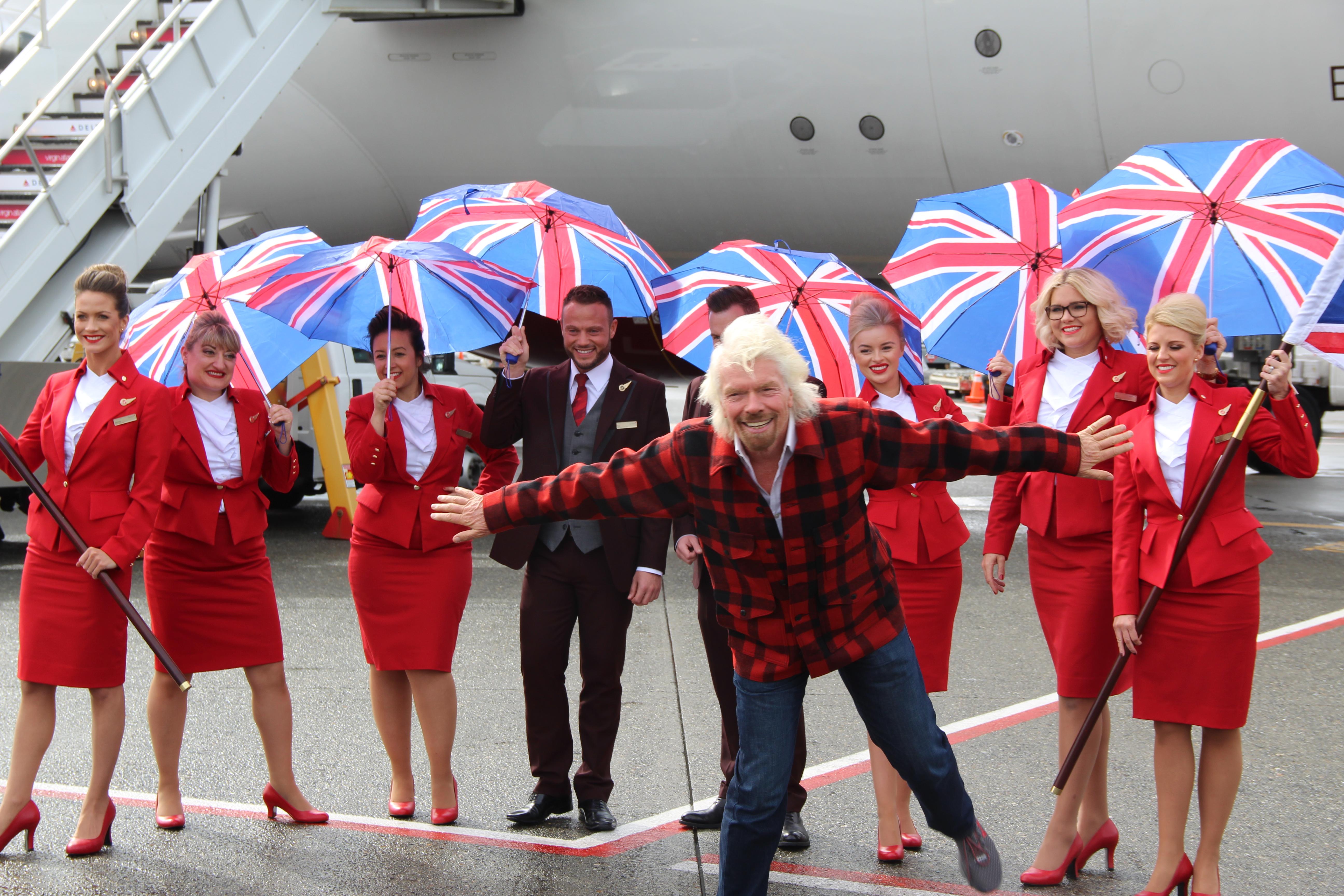 Virgin Atlantic Seattle To London New Route No Mas Coach