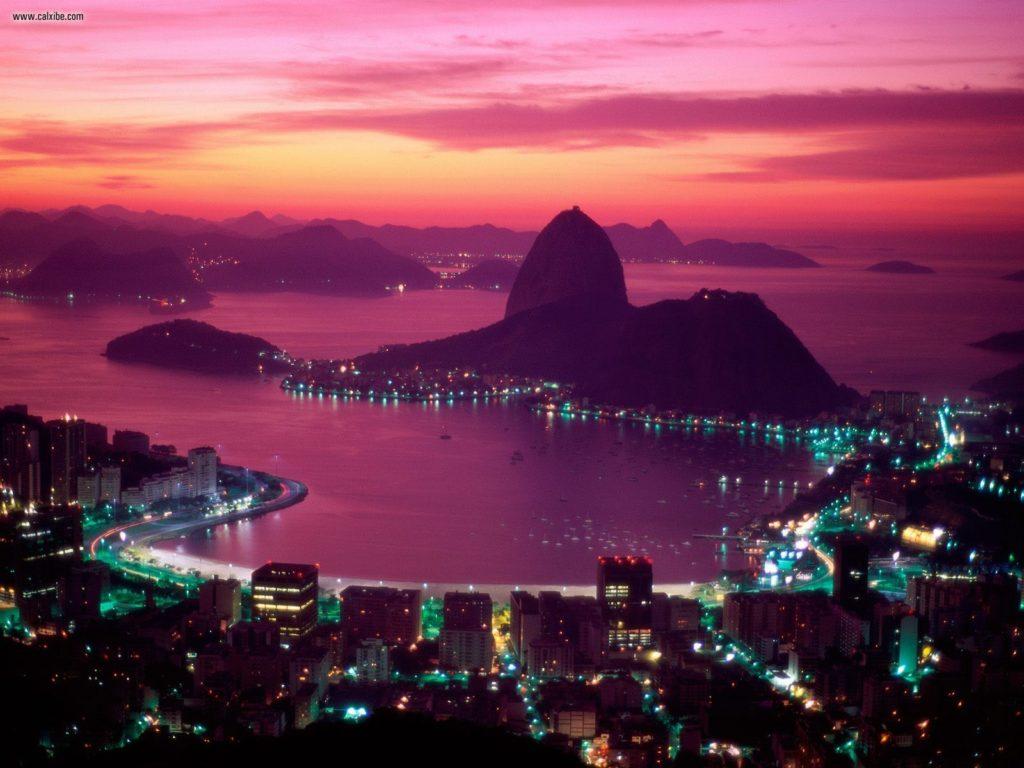 Guanabara Bay, from Wallpaperweb.org