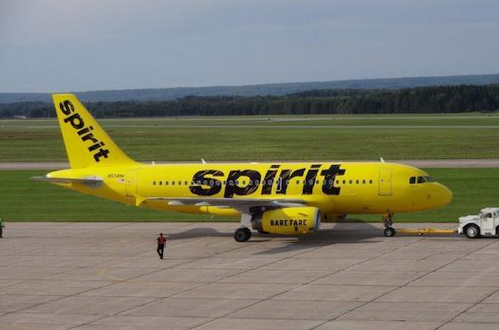 Spirit Airlines Plane, from the Consumerist