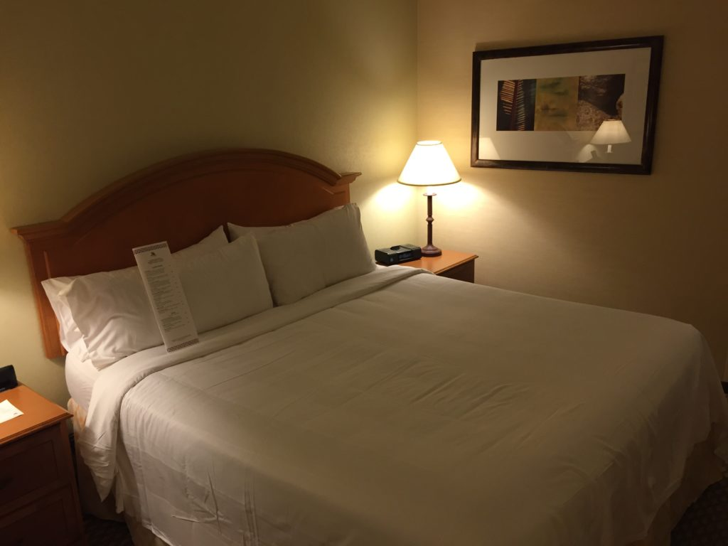Marriott Bed