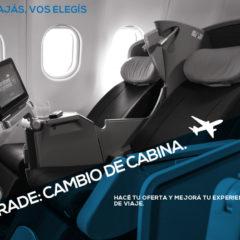 Aerolineas Argentinas Subasta Upgrades a Club Condor