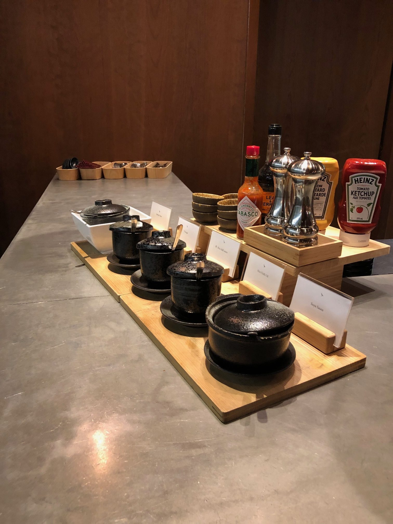 Cathay Pacific Lounge Food