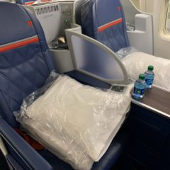 Delta One 757 Domestic Service, a Flight Review